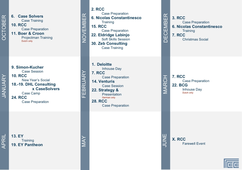 Calendar RCC
