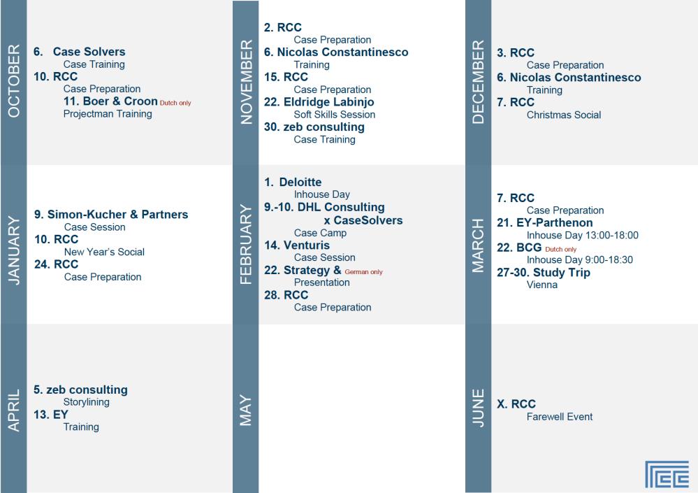 RCC Calendar screenshot